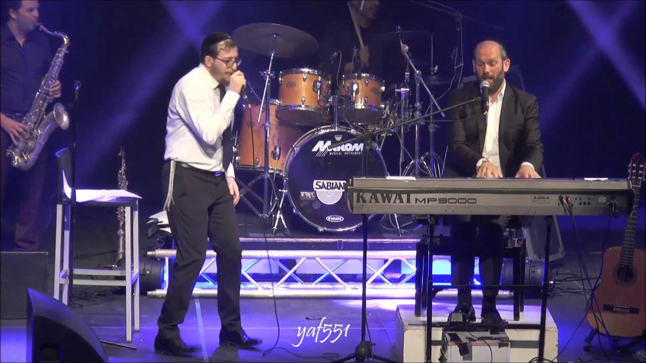 יונתן רזאל עם מנדי ג'רופי בניגון הצמח צדק