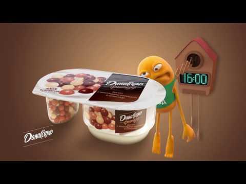 Новый Даниссимо. Идеальное сочетание йогурта и бельгийского шоколада!