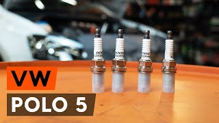 Sway bar bushes change on VW POLO Saloon - video instructions