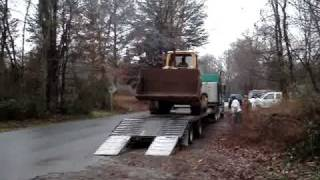 Cat 977 Starting / Unloading / drive to new home