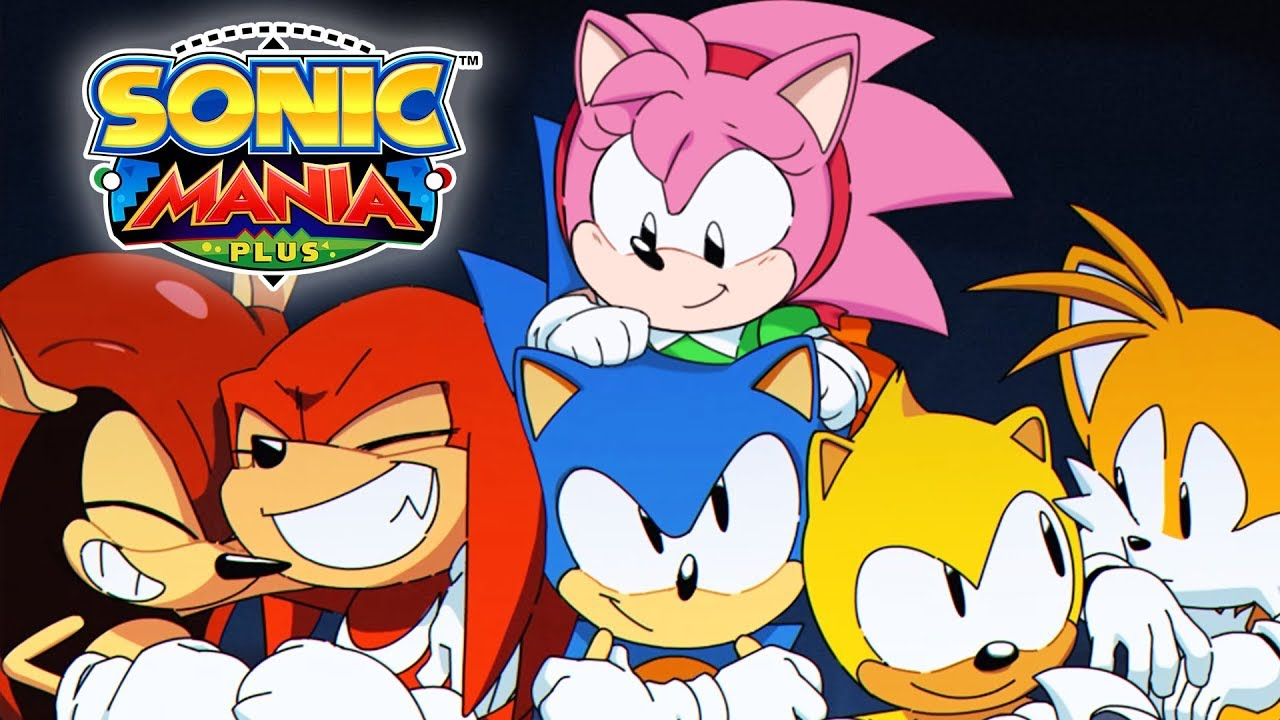 AMY ROSE ROSY THE RASCAL IN SONIC MANIA PLUS     YouTube AMY ROSE ROSY THE RASCAL IN SONIC MANIA PLUS