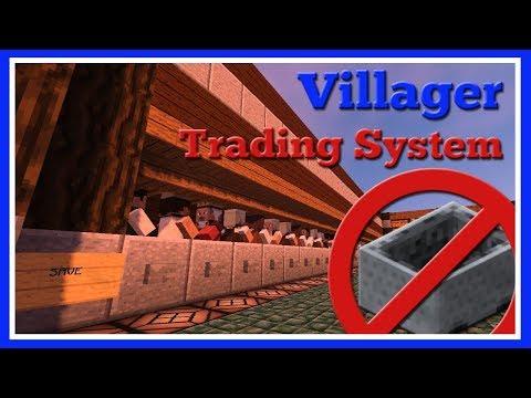 Amazing Villager Trading System! | Tutorial + Download | Minecraft