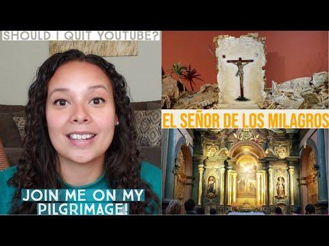 Visit El Señor de los Milagros with me! + life update. Should I quit YouTube?