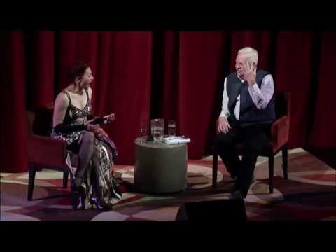 Amanda Palmer and Armistead Maupin  Art of Asking Book Tour 2014