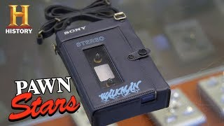 "Pawn Stars: Sony ""Guys and Dolls"" Walkman (Season 15) 