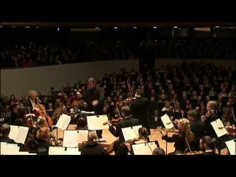 Ilja Gringolts playing Tchaikovsky's Violin Concerto / Lahti Symphony Orchestra (excerpt)