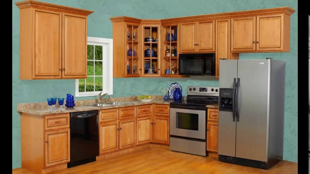 10 x 11 kitchen design - YouTube