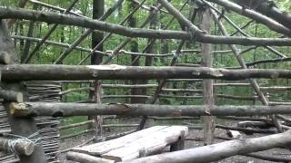 как сделать жилище в лесу