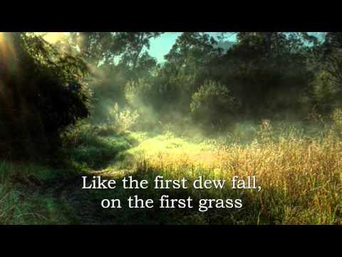 Ann Williamson-Morning has broken (lyrics)