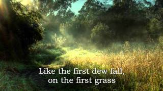 Ann Williamson-Morning has broken (lyrics)