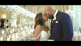 Emotional wedding vows at the Biltmore Ballrooms Atlanta