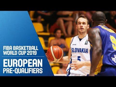 Slovak Republic v Sweden - Full Game - FIBA Basketball World Cup 2019 - European Pre-Qualifiers