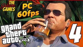 Прохождение GTA 5 с Русской озвучкой (Grand Theft Auto V)[PС|60fps] - Часть 4 (На пенсии)