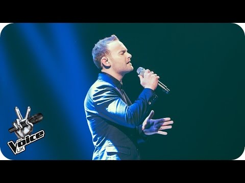 Kevin Simm performs 'I'm Kissing You': The Live Quarter Final - The Voice UK 2016