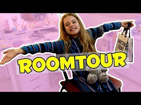 ROOMTOUR VAN HAYLEY'S NIEUWE KAMER (2018) !! 🏠 - Broer en Zus TV VLOG #251