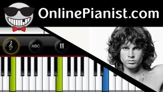 The Doors - Light My Fire - Piano Tutorial & Sheets
