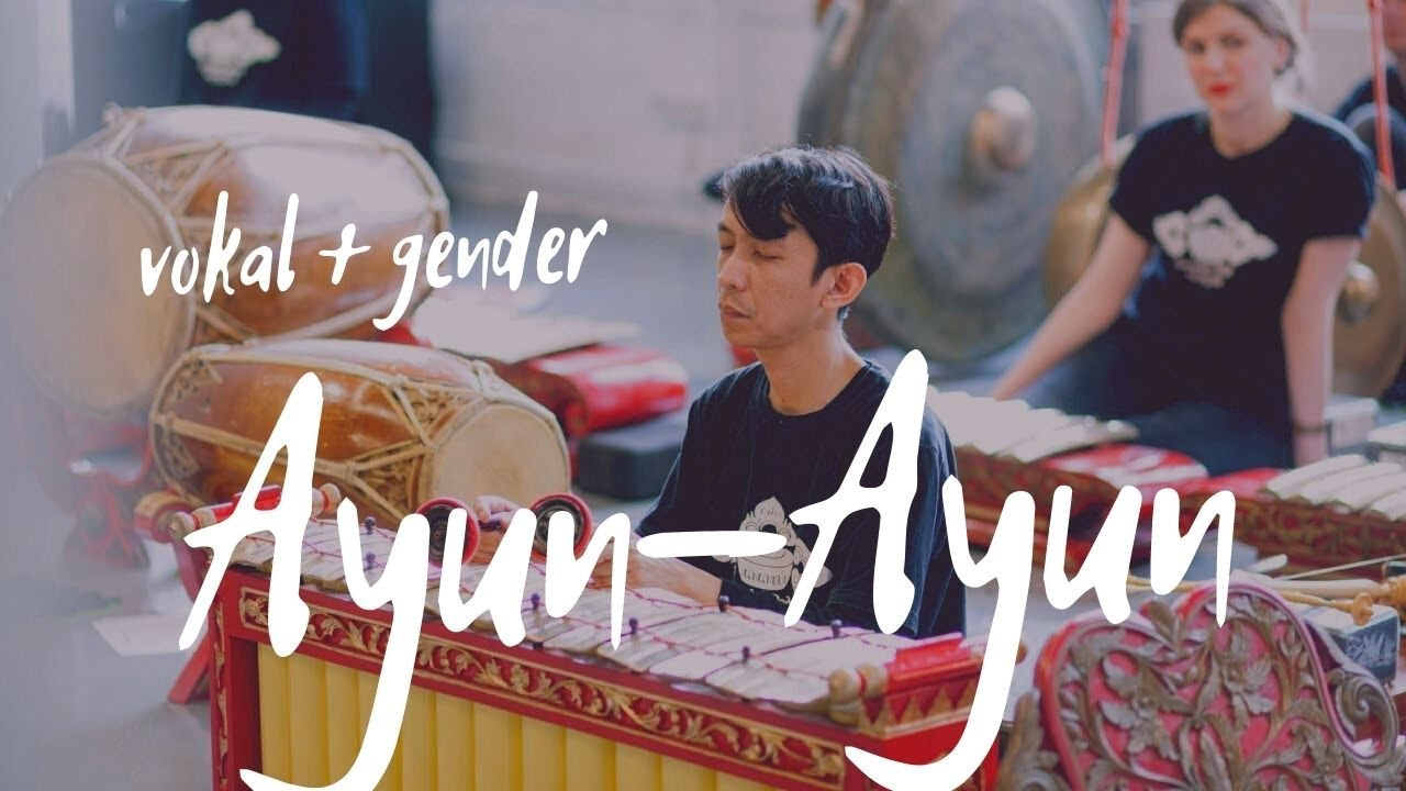 Ayun ayun versi gender vokal slentem || Konser Gamelan dan Meditasi || Музыкальная медитация