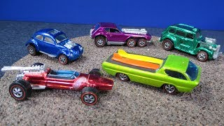 Hot Wheels Redlines including Grand Prix Models, Original Deora, Cockney Cab