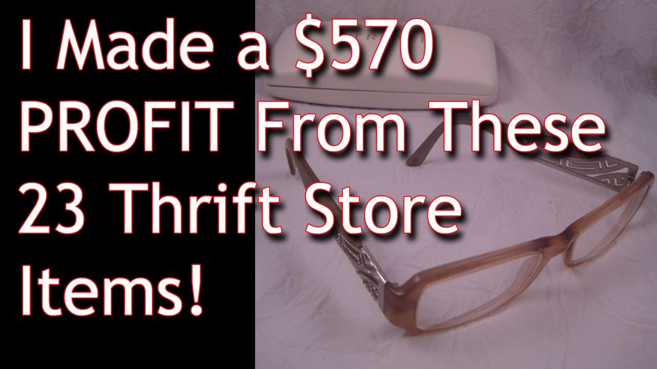 c7f6c0b50b Thrift Store Finds that SOLD on ebay - Make Money From Home - Fulltime  Family RV - Dorky Thrifters