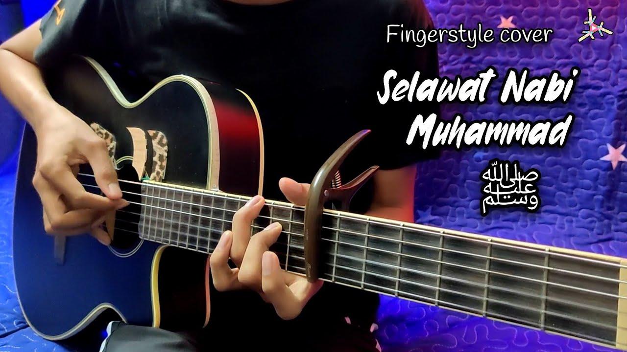 SELAWAT NABI MUHAMMAD | Fingerstyle cover | Sholawat | Easy Chord Instrumental | Faiz Fezz