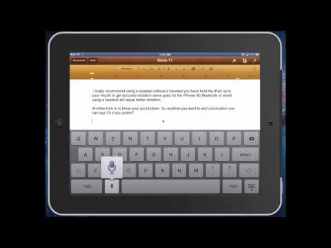 5 Tips to Master Dictation On You New iPad or iPhone