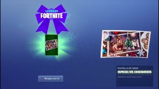 Fortnite-how to make the Christmas challenge day 6 (Free gifts) goose nests