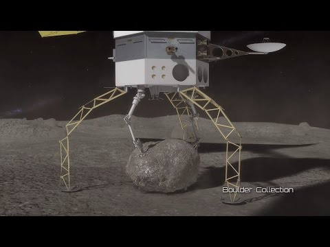 Asteroid Redirect Mission: Robotic and Crew Operations | Video