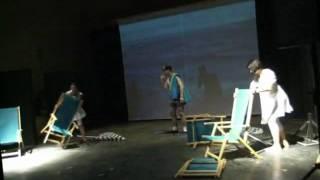 """Foto di scena Viaggiare senza Binari prima parte - Compagnia di Teatro Integrato """"Amleto in Viaggio"""""""