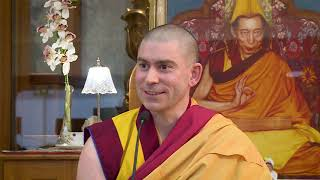 Deepening our conviction in the law of karma - Gen Kelsang Rabten