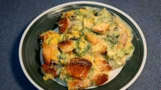 Old Fashioned Broccoli Casserole From Scratch -- Cooking With Agent96 E#28