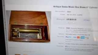 Thrift Hunter Garage Sale Finds Costume Jewelry Elgin Ww2 Clock Sterling Sold Estate #64