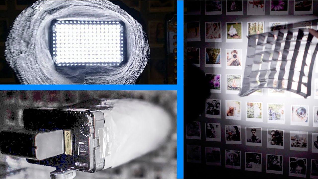 Diy Led Spot Light Snoot Vs Grid Easy Barn Doors Alternative