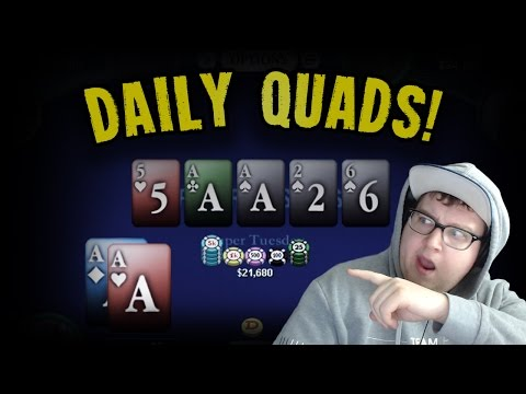 ALL-IN WITH QUADS IN THE $1050 SUPER TUESDAY? (tonkaaaap stream highlights 12/27/2016)