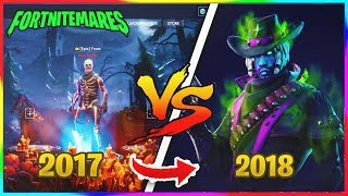 FORTNITEMARES 2017 VS FORTNITEMARES 2018! VBUCKS GIVEAWAY - France Événement Fortnite Halloween