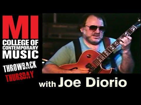 Joe Diorio (Jazz Guitar) Throwback Thursday from the MI Vault