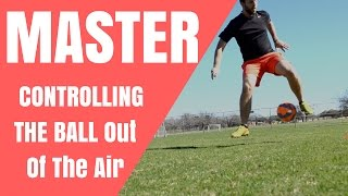Simple SOCCER DRILL To Improve Your First Touch Out Of The Air