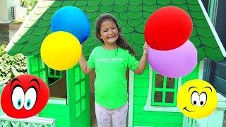 Learn Colors with Balloon & Öykü - Fun kids video