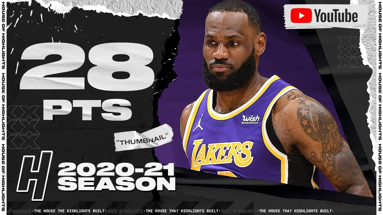 LeBron James SICK 28 Points Full Highlights - Trail Blazers vs Lakers | February 26, 2021