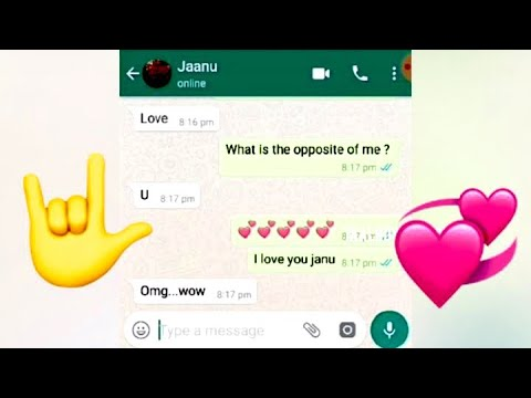 Best proposal ever ️ love Chat ️ WhatsApp chat ️ - YouTube