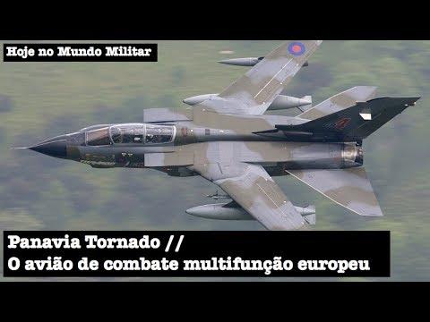 Panavia Tornado, o avião de combate multifunção europeu