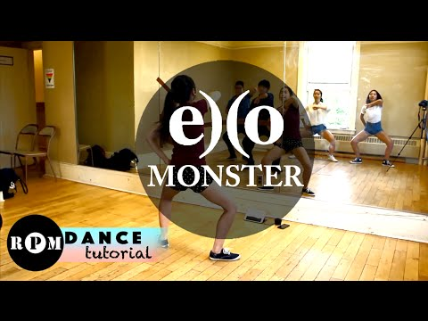 EXO Monster Dance Tutorial (Chorus)