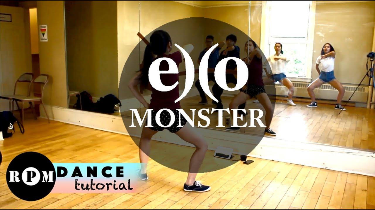 EXO 'Monster' Dance Tutorial (Chorus)