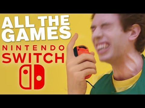 ALL 58+ Nintendo Switch Games Breakdown! 2017 - 2018