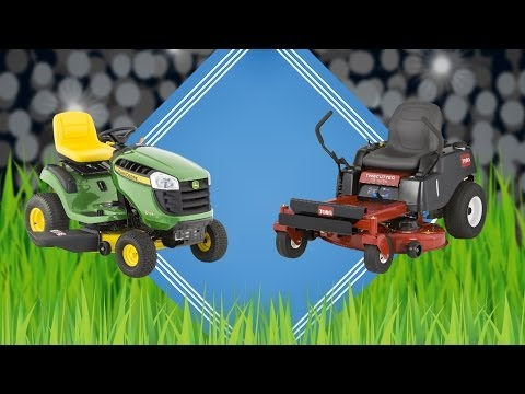 Cutting grass fast: A mower race | Consumer Reports