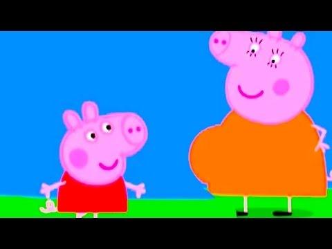 Свинка Пеппа - Джоржик в животике