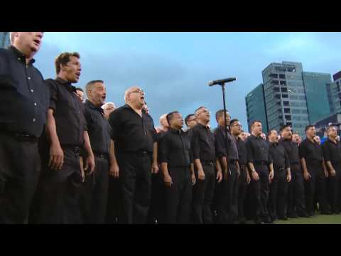 San Diego Gay Men's Chorus Sings National Anthem