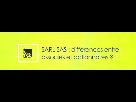 Tuto Valoxy :  SARL SAS : Différences entre associés et actionnaires