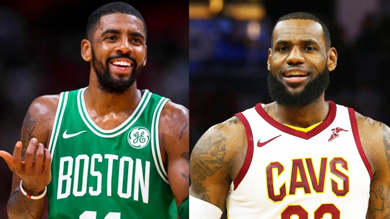 caf21c84b64c Kyrie Irving Says If LeBron James Doesn t Pick Him in the 2018 NBA All-Star  Game He Won t Be Mad!