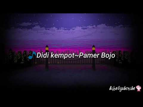 pamer-bojo-didi-kempot-[lirik]