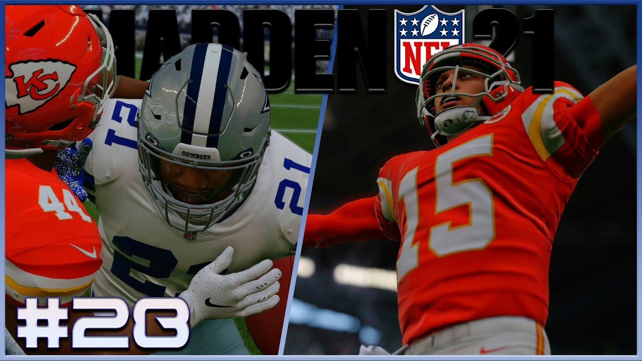 Super Bowl Rematch!  | MADDEN 21 | Cowboys Franchise S2 | Ep. 28 | Week 7 vs Chiefs